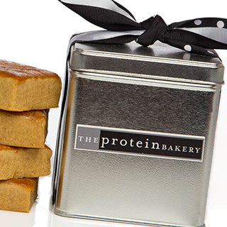 Peanut Butter Blondie Mini Square Tin - Protein Bakery