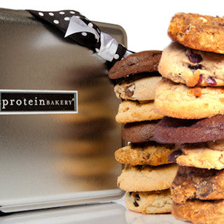 The 'O' List Cookie Gift Tin - Protein Bakery