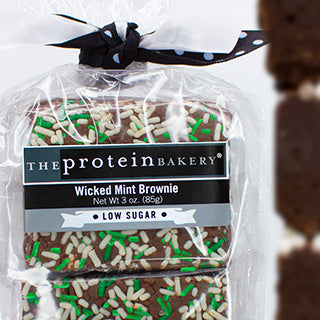 Wicked Mint Brownie 6-Pack Gift Bag- Low Sugar