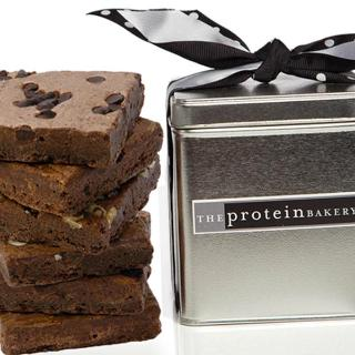 Brownie Assortment Square Tin - The Protein Bakery