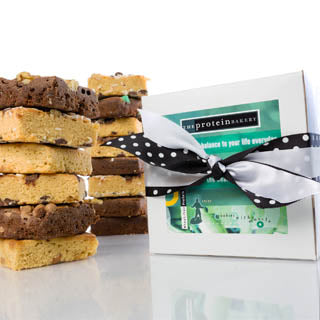 Assorted Brownies/Blondies Gift Box - The Protein Bakery