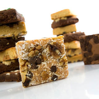 Brownie and Blondie Assortment Six-Pack Gift Bag - Protein Bakery