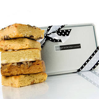 Blondie Assorted Gift Tin (Wholesale) - Protein Bakery