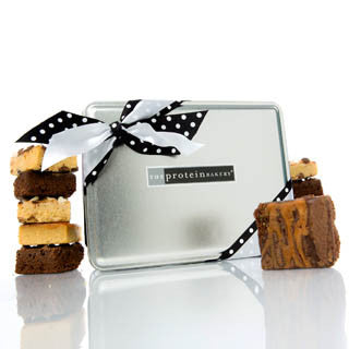 Protein Mini Assorted Gift Tin Box - Protein Bakery