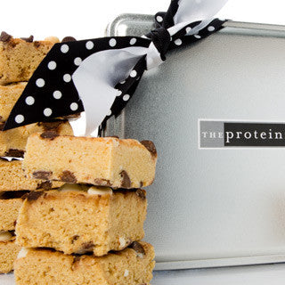 Black and White Blondie Mini Gift Tin Box - Protein Bakery