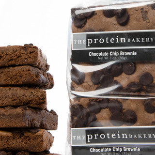 Chocolate Chip Brownie Six-Pack Gift Bag - Protein Bakery