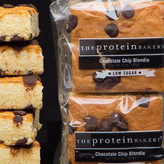 The Protein Bakery Chcoolate Chip Blondie Six Pack Gift Bag (Low Sugar)