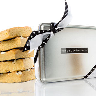 Lemon White Chip Blondie Gift Tin