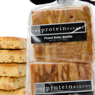 Peanut Butter Blondie Six-Pack Gift Bag - Protein Bakery