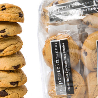 Peanut Butter Chocolate Chip Cookie Six-Pack Gift Bag - Protein Bakery