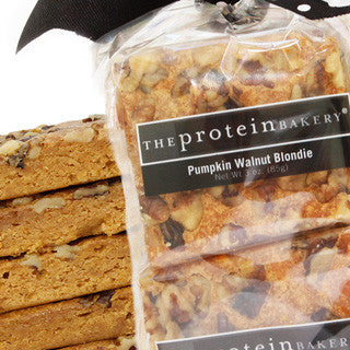 Pumpkin Walnut Blondie Six-Pack Gift Bag (Seasonal) - Protein Bakery