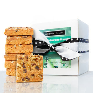 Pumpkin Walnut Blondie Gift Box (Seasonal) - Protein Bakery