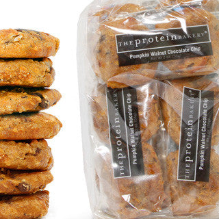 Pumpkin Walnut Chocolate Chip Cookie Six-Pack Gift Bag (Seasonal) - Protein Bakery