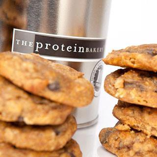 Pumpkin Walnut Chocolate Chip Cookie Silver Pint Tin (Seasonal) - Protein Bakery