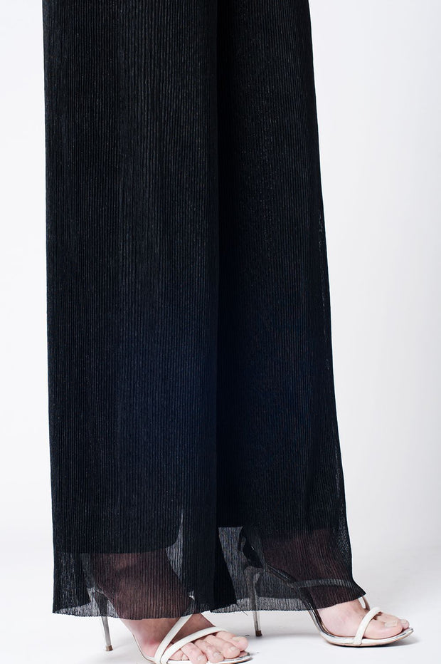 Pantalon Cheesecloth Noir