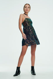 Jessy Mini Dress With Glitter