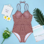 Sasha Halter one piece Swimsuit