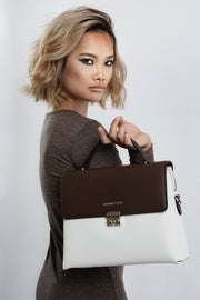 Sahel'20 Handbag - Coffee