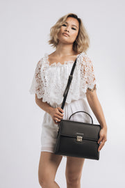 Sahel'20 Handbag - Black