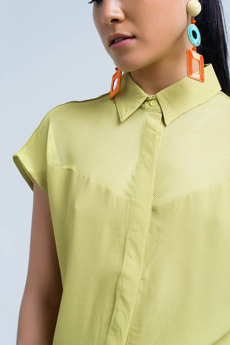 Athene yellow shirt