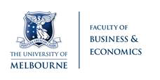 University of Melbourne Faculty of Business & Economics logo
