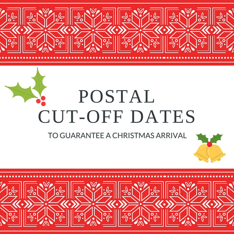 Postal Cut-Off Dates for Christmas 2015