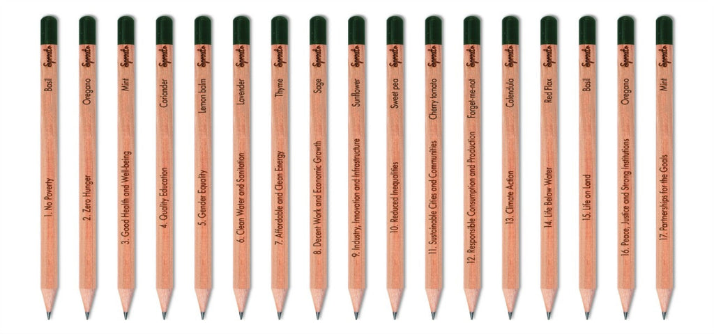 Sprout Pencils - Corporate Social Responsibility custom branded