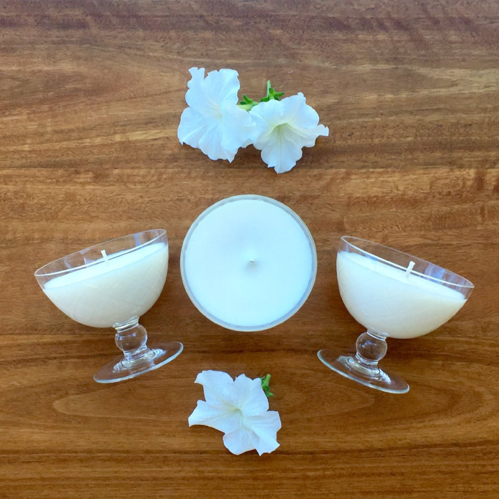 Handmade Soy Vintage Glass Candles | Charleston