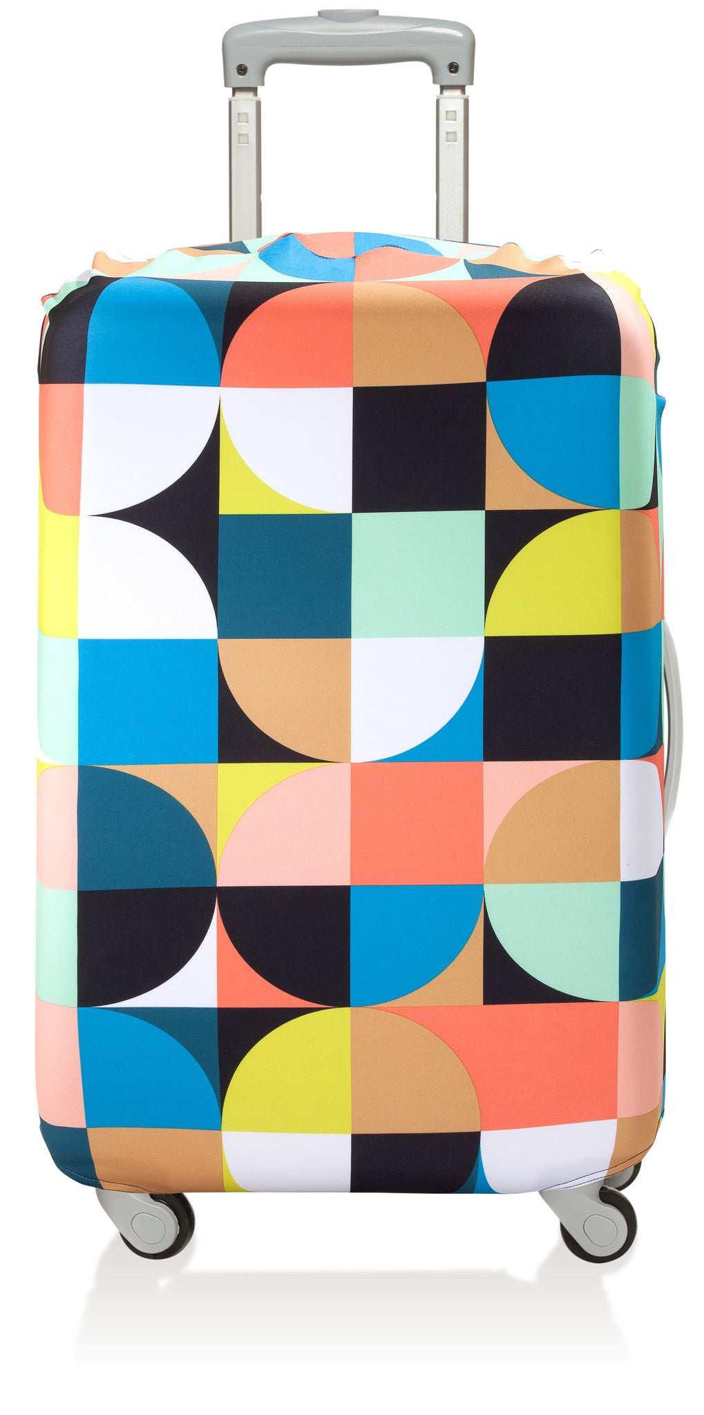 Loqi Reusable Luggage Bag: Geometric