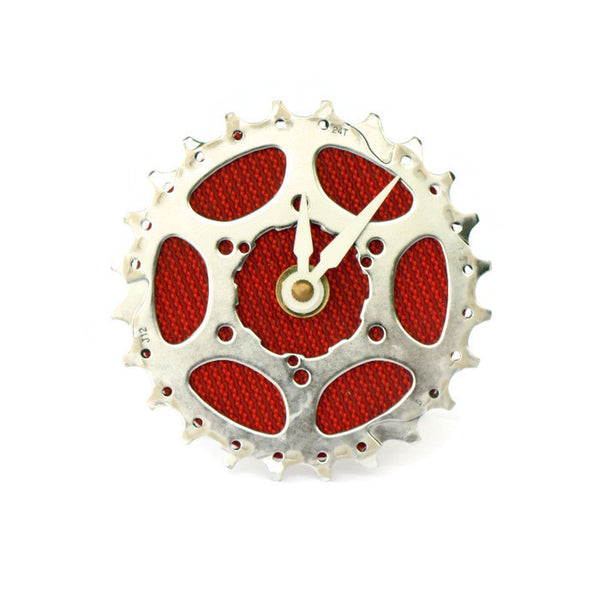 Bicycle Desk Clock: Single Cog