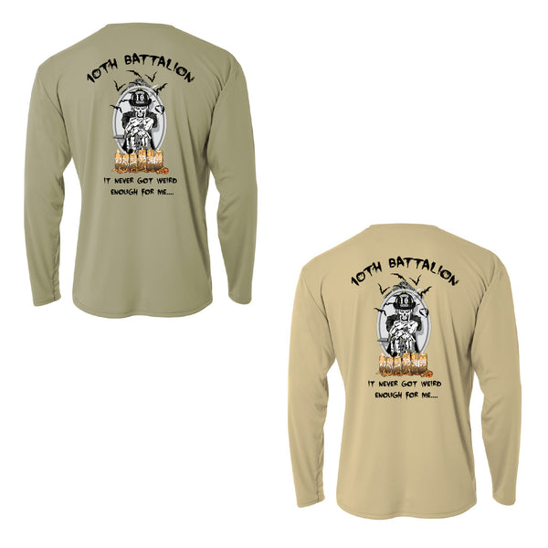 10th Battalion Dri Fit - LS