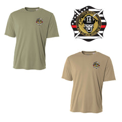 10th Battalion Dri Fit - SS