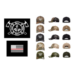 Batt 5 Maltese Logo - Flexfit 6606MC (Trucker Snap Back)