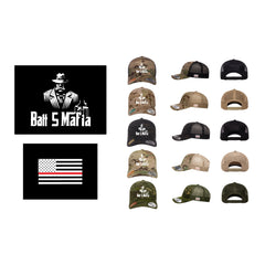 Batt 5 Standard Logo - Flexfit 6606MC (Trucker Snap Back)