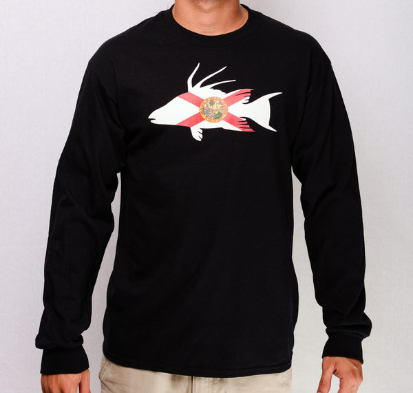 FL HOG L/S (Black)