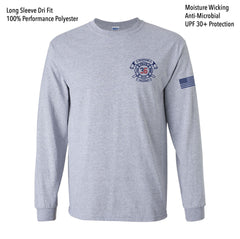 Fire 36 Dri Fit LS Tee