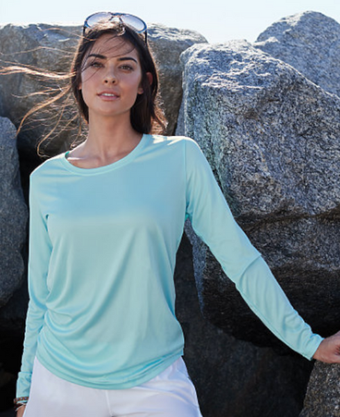 Women's Dryfit LS (Scoop Neck) - CCAT