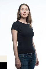 3002 - Women's Loose Fit Cap Sleeve T-Shirt