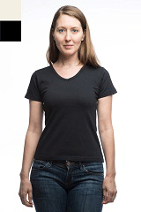 9004 - Women's V Neck with a Tapered Fit