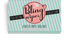 Bling Wipes – Box of 10 Individually Packaged Wipes
