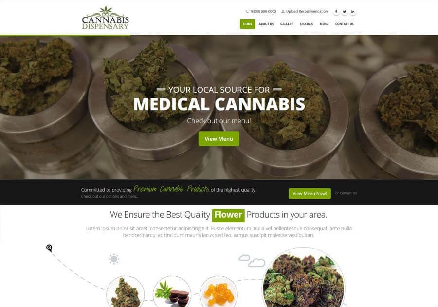 Website Design Weed