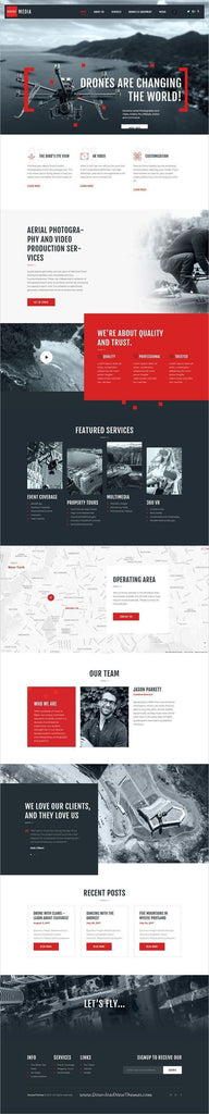 drone-website-design