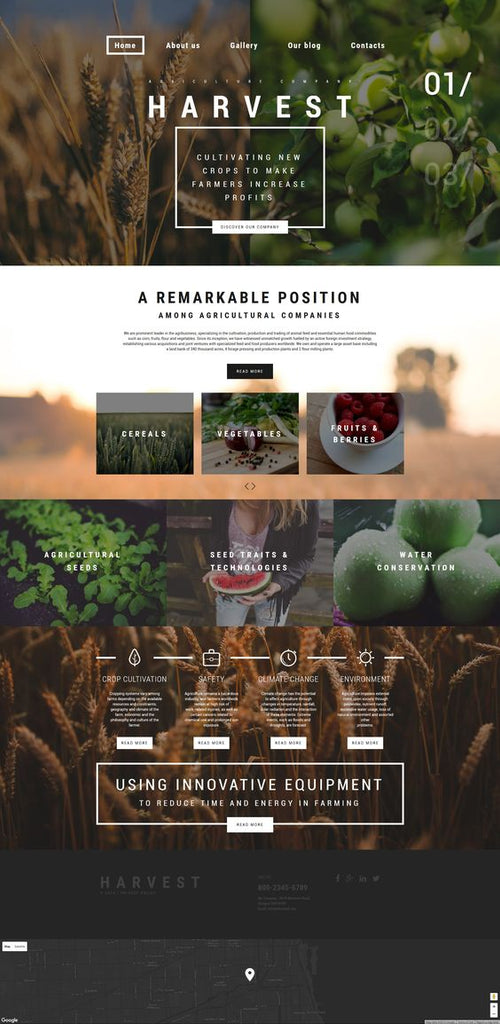 farm-website-design