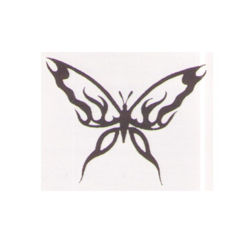 Tribal Butterfly fake tattoo