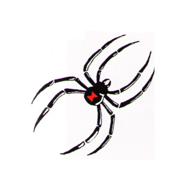 Spider fake tattoos