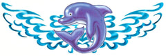 Dolphin Temporary Tattoo
