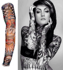 Fake Tattoo Sleeve Nylon