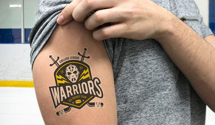 your logo as tattoo