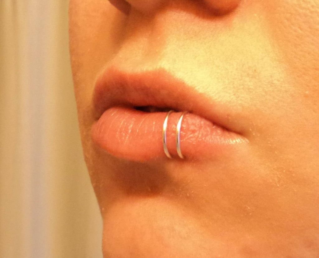 Lip Hoop Ring