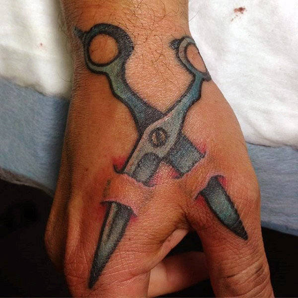 Temporary Tattoo Scissors